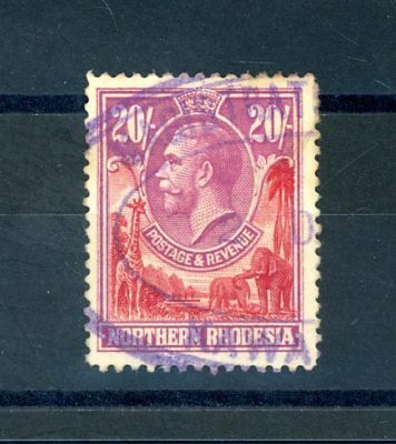 Northern Rhodesia  GV  20s Value,   Revenue used    (D1194)