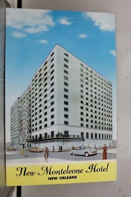 Louisiana LA New Orleans Monteleone Hotel Postcard Old Vintage Card View Post PC