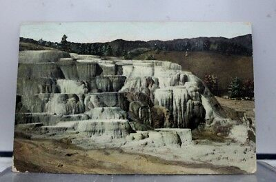 Yellowstone National Park Minerva Terrace Postcard Old Vintage Card View Post PC