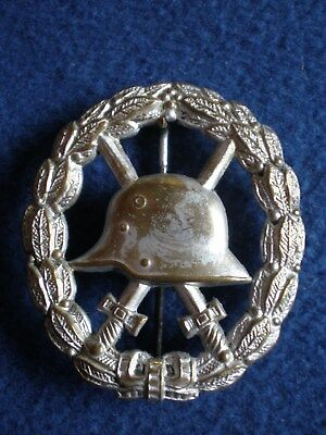 Germany: Army Silver Wound Badge 1914-1918.