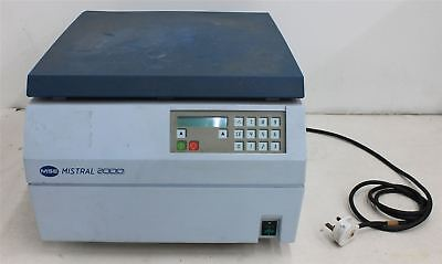 MSE Mistral 2000 Microprocessor Controlled Multi-Purpose Benchtop Centrifuge