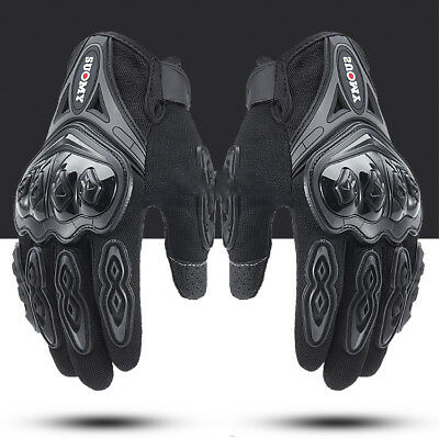 Tactical Hard Knuckle Full Finger Gloves Motorcycle Screen Touch Racing Gloves