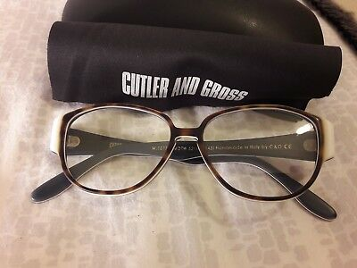 Cutler And Gross - Archive Vintage Spectacles / Glasses NEW £295 M:1077 C:MDTW