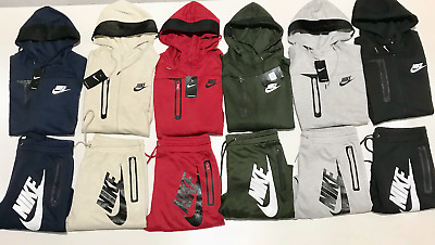 Nike Air Suit Top And Bottom Hoodie Brand New Complete Set Mens Sweat Suit