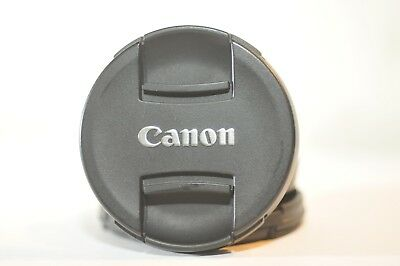 Canon E-58 II center pitch 58mm front lens cap Genuine product for 75-300mm