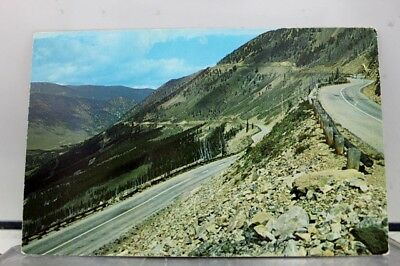 Yellowstone National Park Cooke City Highway Red Lodge Switchbacks Postcard Old