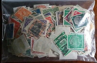 Lot of Germany Several Thousands Old Stamps Used/MH(2.3oz)