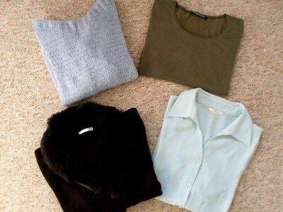 Ladies Winter Clothes. Size 12. All Vgc, Freshly Washed & Ironed