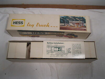 1976 Hess Barrel Truck With Hess Labeled Barrels, New In Original Box