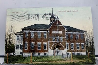 Kentucky KY Winchester High School Postcard Old Vintage Card View Standard Post