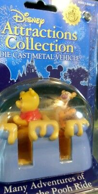 Disney Many Adventures of Winnie the Pooh Ride Park Attractions Diecast NEW!