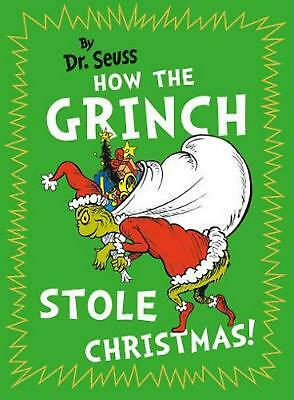 How the Grinch Stole Christmas! Pocket Edition by Dr. Seuss Hardcover Book Free