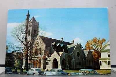 Vermont VT St Johnsbury North Congregational Church Postcard Old Vintage Card PC