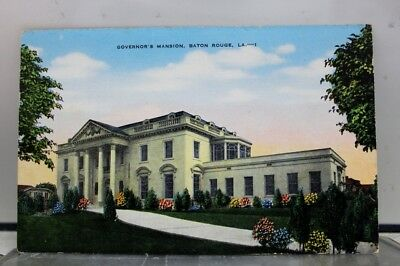 Louisiana LA Governors Mansion Baton Rouge Postcard Old Vintage Card View Post