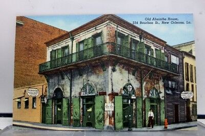 Louisiana LA Absinthe House New Orleans Postcard Old Vintage Card View Standard