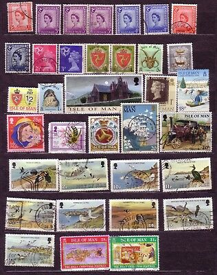 37). Stamps: Isle Of Man Selection.