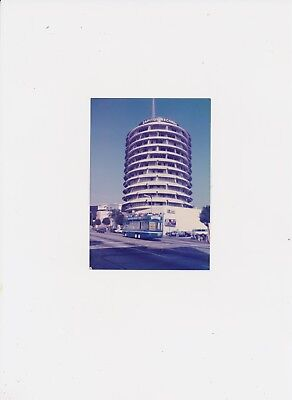 Found Old Color Photo of Capitol Records in Hollywood California