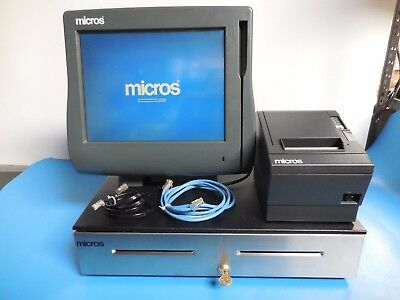Micros Workstation 4 POS System Restaurant Retail Business