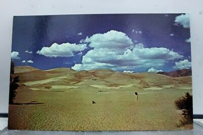 Colorado CO Great Sand Dunes Monument Postcard Old Vintage Card View Standard PC