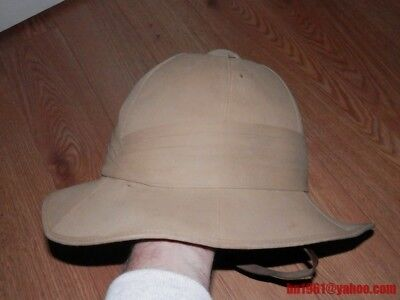 WW2 British WOLSELEY pith helmet