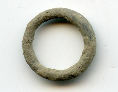 Larger authentic ancient bronze Celtic ring money, 800-500 BC, Central Europe