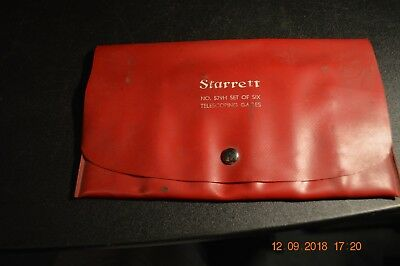 Starrett No. 579H Set Telescoping Gages  (Missing 2 ) Tool Tools Machinist