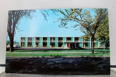 Vermont VT Motel Brown Burlington Postcard Old Vintage Card View Standard Post