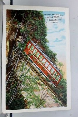 Tennessee TN Incline Railway Chattanooga Postcard Old Vintage Card View Standard