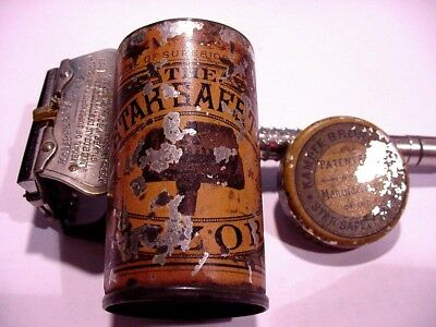 The Star Safety Razor Tin With The Original Razor Complete