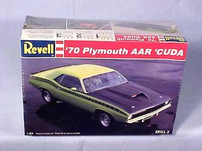 Vintage 1/24 Revell '70 Plymouth AAR CUDA NOS FACTORY SEALED 1995