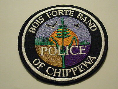 Bois Forte Band of Chippewa Police Patch Tribe Tribal Minnesota