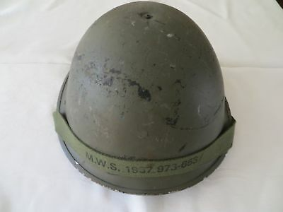 Vintage British Turtle Helmet with Liner MWS 1987