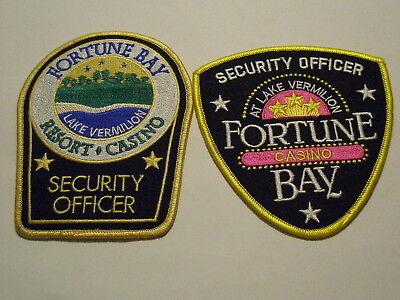 Fortune Bay Casino Security Officer Patch Minnesota