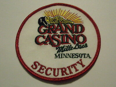 Grand Casino Mille Lacs Minnesota Security Patch Tribe Tribal