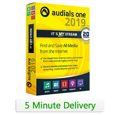Audials One Platinum 2019 Full version | Official License Key | Fast Delivery!