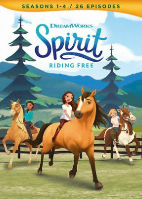 Spirit: Riding Free - Seasons 1-4 - Movie Dvd