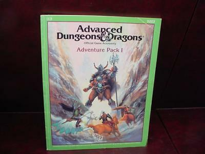 1987 Advanced Dungeons & Dragons ADD ~ ADVENTURE PACK I ~ TSR # 9202 CC
