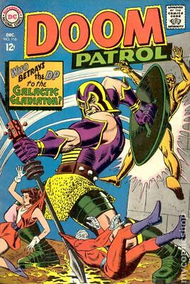 Doom Patrol (1st Series) #116 1967 VG/FN 5.0 Stock Image Low Grade