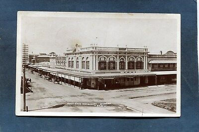 Maryborough,Queensland-FINNEY ISLES Co.DEPARTMENT STORE Horse Wagons-'10 RPPC