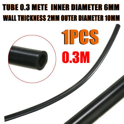 Silicone Vacuum Hoses + Hose Clips - Tube Rubber Air Water Coolant Oil Turbo