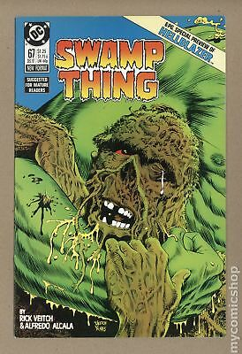 Swamp Thing (2nd Series) #67 1987 FN/VF 7.0
