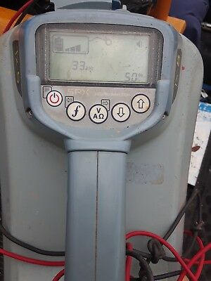 spx radio detector/pipe locator receiver only, what you see is what you get.