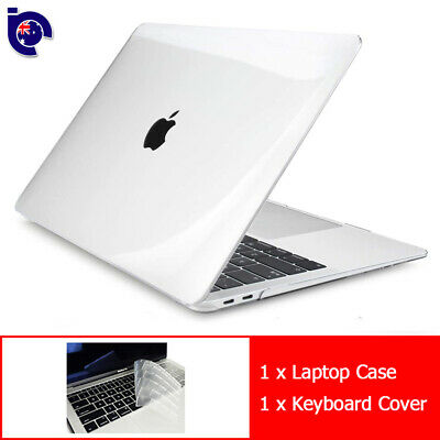 "For 2018 New Macbook Air 13"" A1932 Clear Full Body Case Keyboard Cover Touch ID"