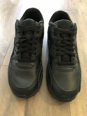 Nike Air Max 90 Size 37.5/7 Black Leather