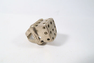 Alter Ring Fulani AC13 Bornu Old used ring bague Afrozip