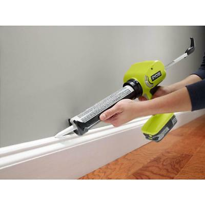 Power Caulk Adhesive Gun Variable Speed Durable Lithium Ion 18-Volt Tool Only