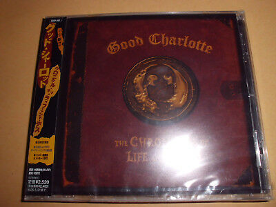 GOOD CHARLOTTE The Chronicles Of Life And Death Punk/Rock CD 17 Trx NEU+foliert!