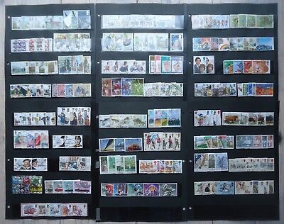 All GB Commemorative Stamp sets, 1979 - 1985