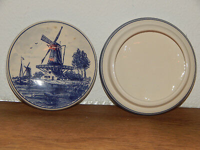 Hand Painted Holland bowl with lid #130024