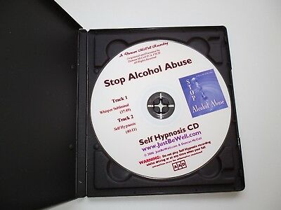 Self Help CD- Stop Alcohol Abuse -Duncan McColl